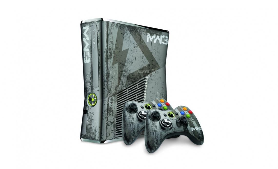 Xbox 360 в стиле милитари