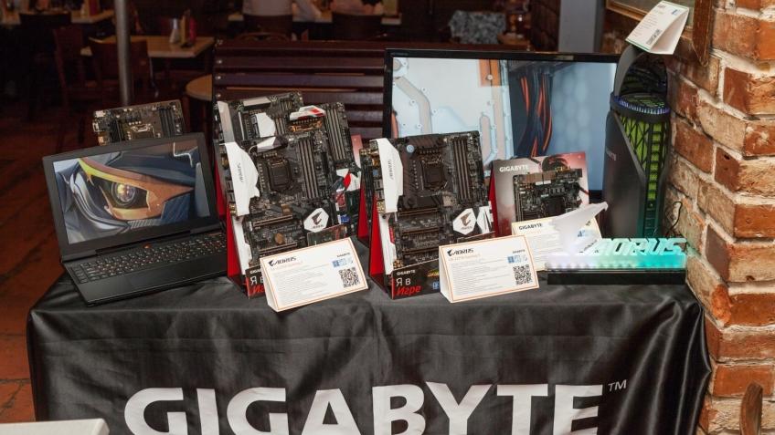 Gigabyte представила системные платы AORUS для игровых PC