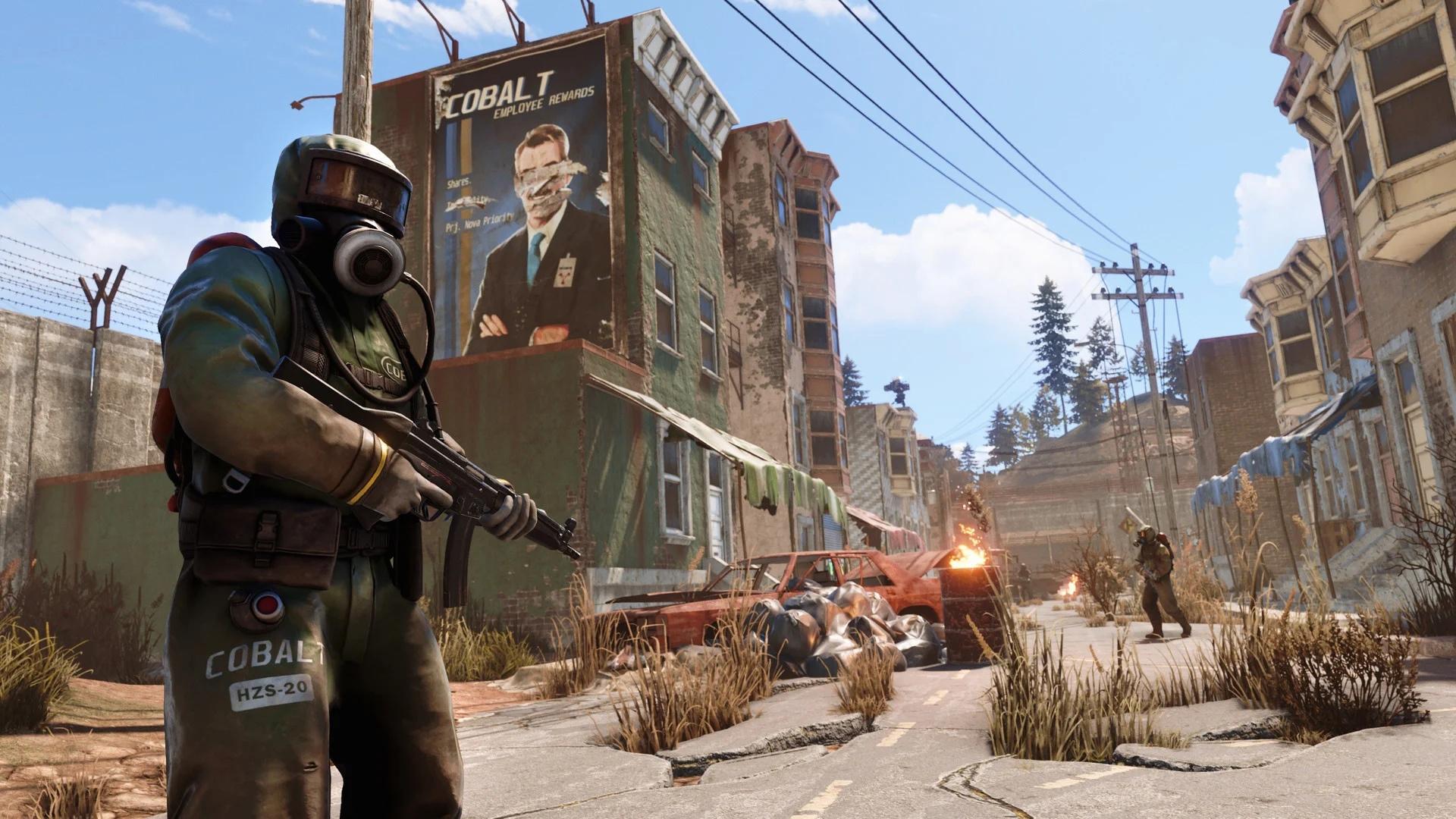 Разработчики Rust показали24 минуты игры на PS4 Pro и Xbox One X