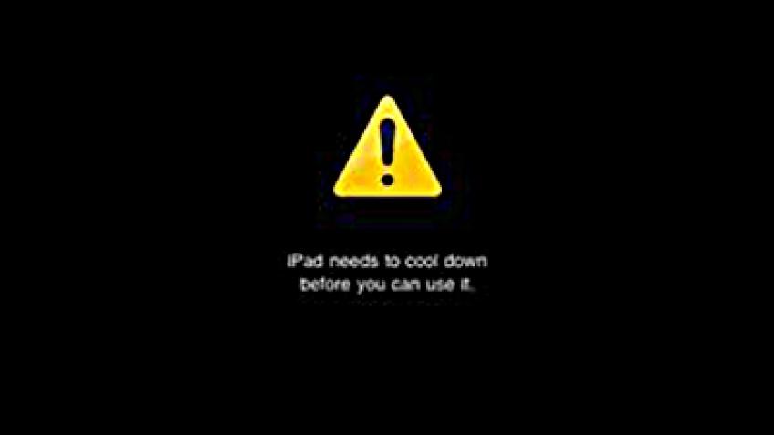 iPad перегревается, не ловит Wi-Fi