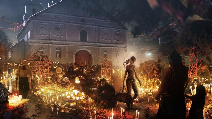 Лару Крофт можно назвать злодейкой в Shadow of the Tomb Raider