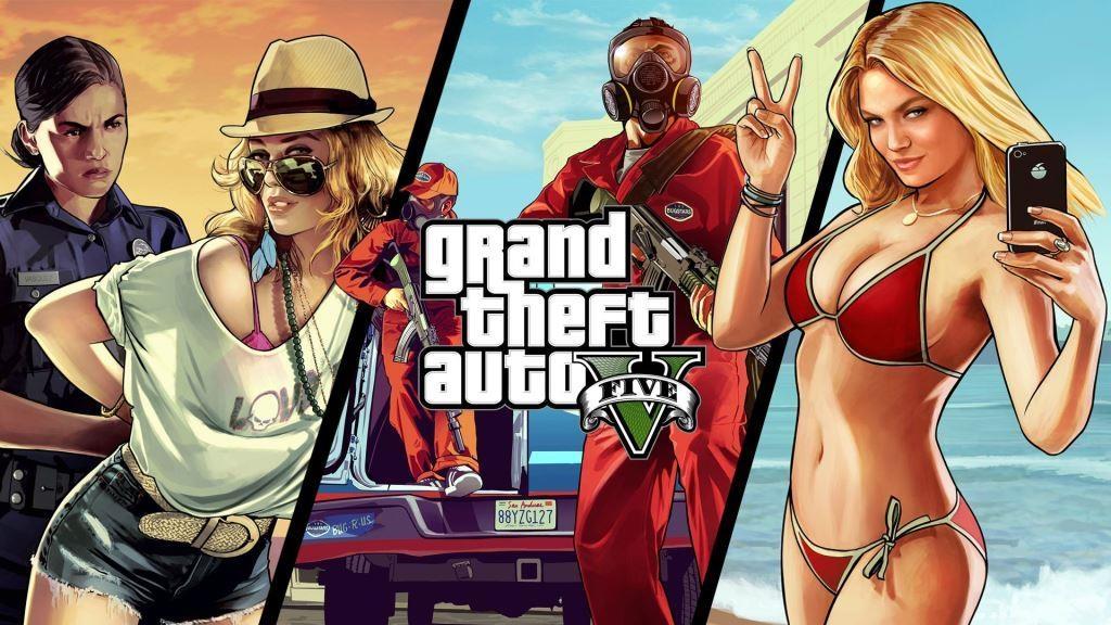 GTA5 стала самой продаваемой игрой в США