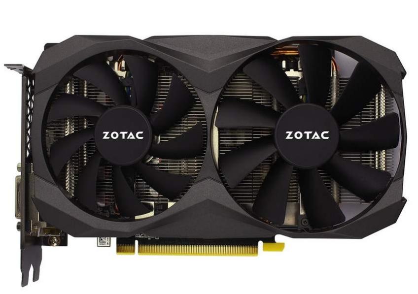 Zotac представила видеокарту GeForce GTX 1060 6GB G5X Destroyer