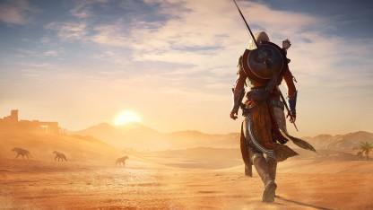 Авторы Assassin's Creed: Origins показали полную карту игрового мира