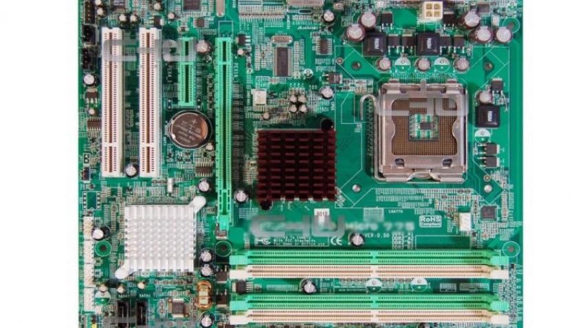 Первые фото Intel G33 Express