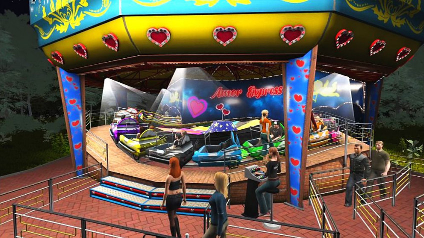 Theme Park Simulator: Rollercoaster Paradise вышла на PlayStation4