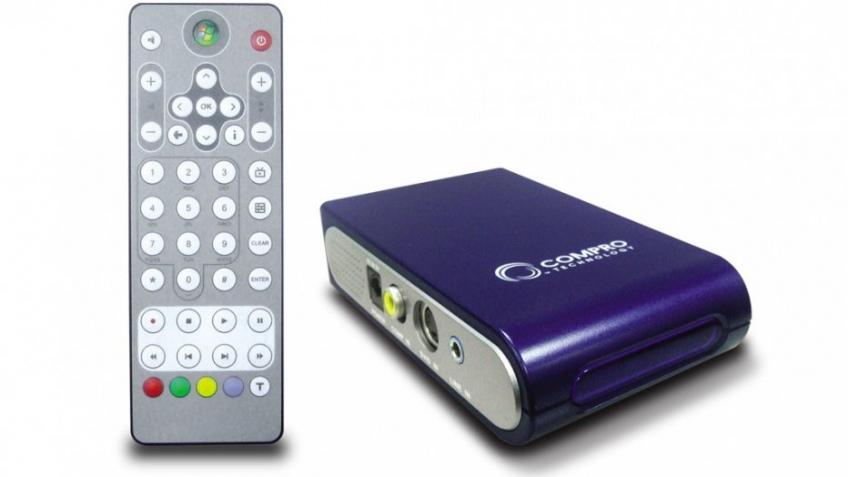 Новый внешний ТВ-тюнер Compro