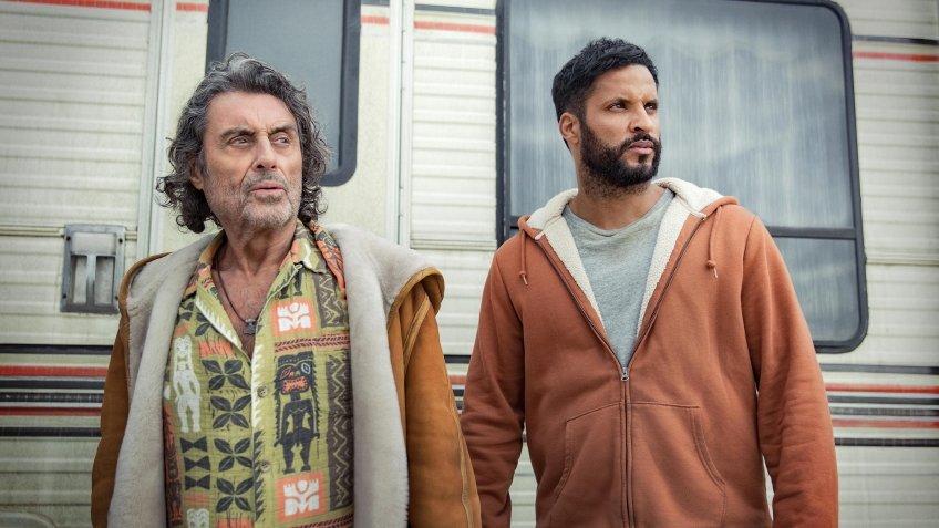 Среда и Тень на первом кадре третьего сезона «Американских богов»