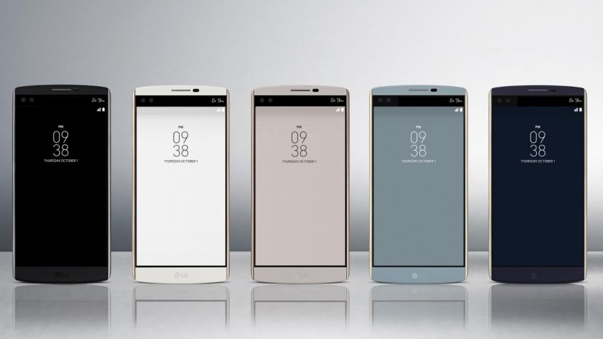 Смартфон LG V10 получил два дисплея и двойную селфи-камеру