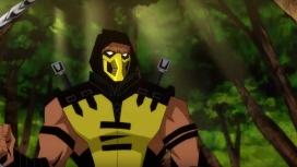 Появился новый отрывок мультфильма по Mortal Kombat со Скорпионом