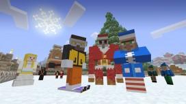 Minecraft готовится к зимним праздникам