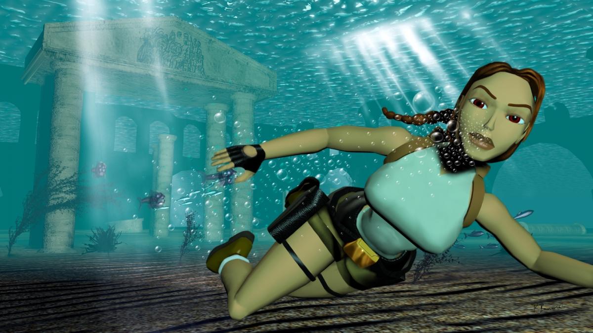 Tomb Raider попала в зал славы видеоигр