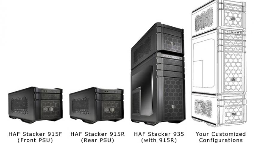 Cooler Master HAF Stacker: первые корпуса формата Mod Tower