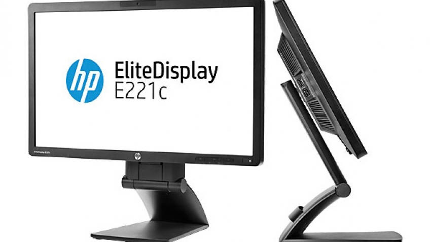 HP EliteDisplay E221c: IPS-монитор с веб-камерой