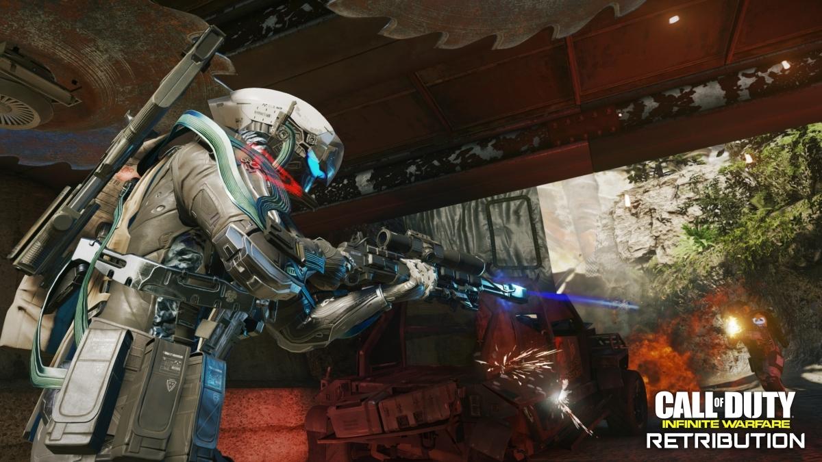 Авторы Call of Duty: Infinite Warfare показали карты из дополнения Retribution