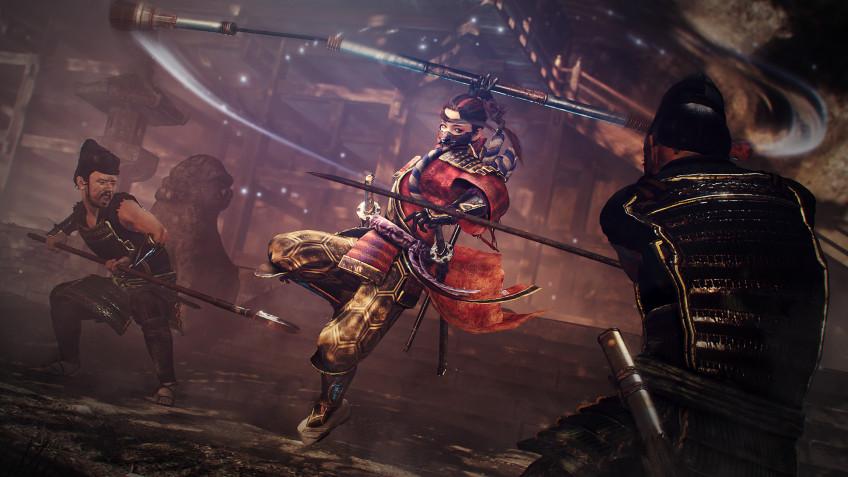 В сети появился геймплей первого DLC для Nioh2 — The Tengu's Disciple