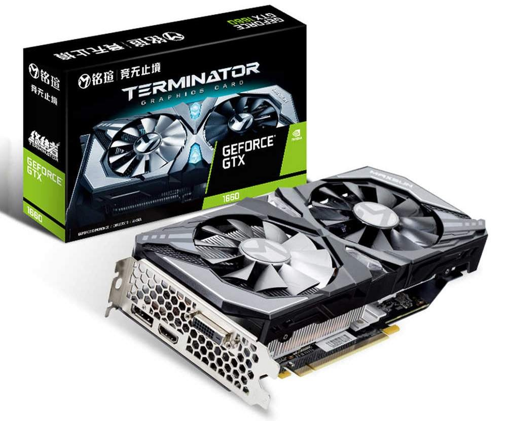 Характеристики GeForce GTX 1660 Super подтверждены