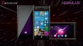 Emperion якобы готовит смартфон Nebulus на полноценной Windows 10