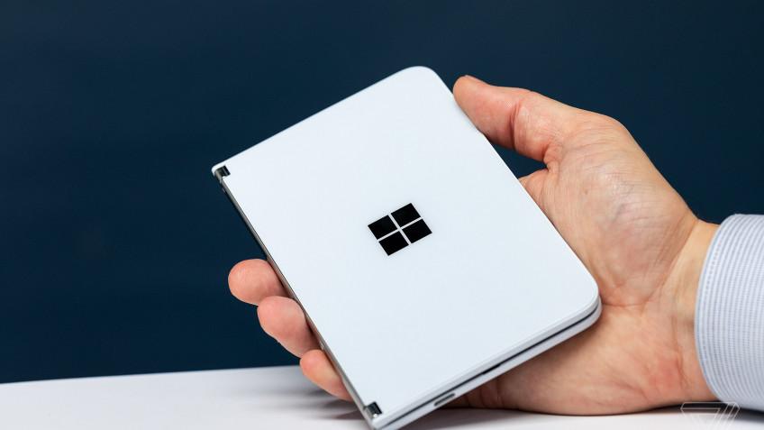 Приложение Your Phone поддерживает двухэкранный смартфон Surface Duo