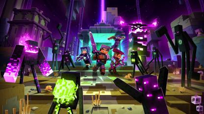 К Minecraft Dungeons выпускают дополнение Echoing Void