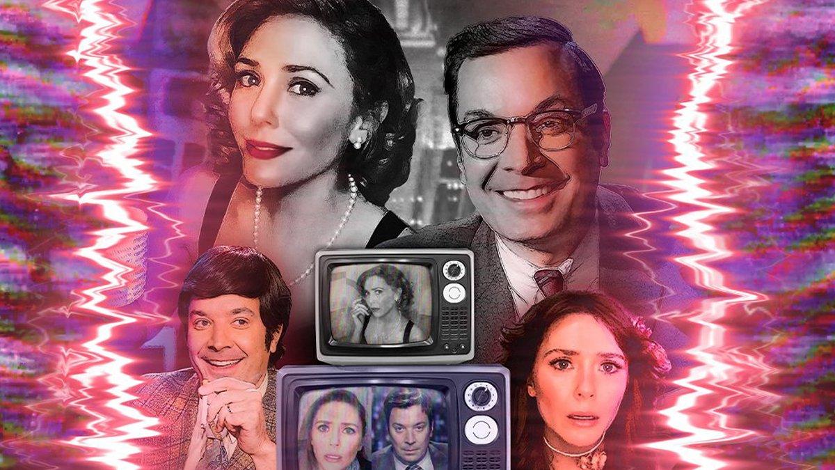 Джимми Фэллон выпустил пародию на «ВандаВижн» с Элизабет Олсен