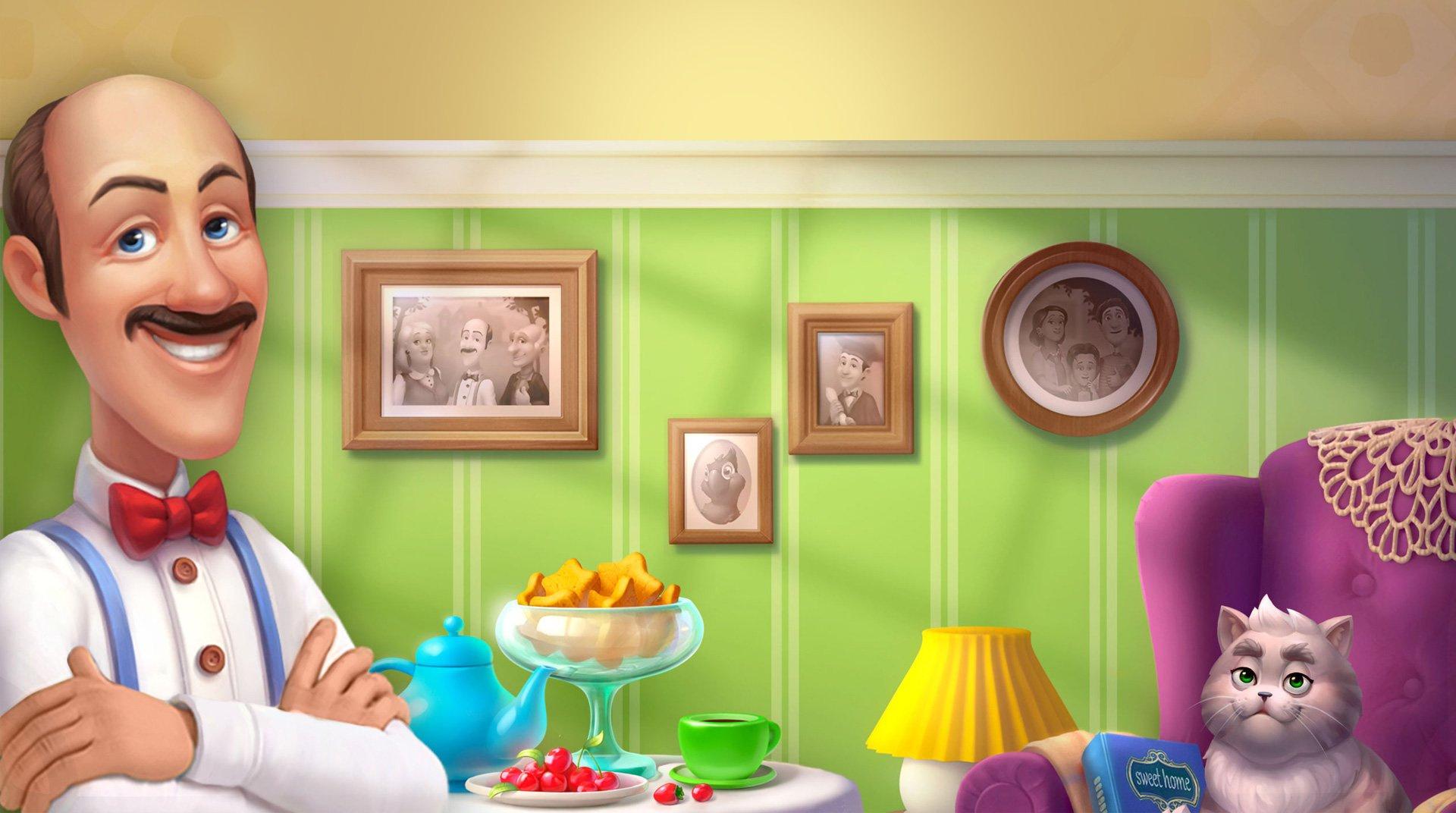 Земфира посвятила песню дворецкому Остину из серии игр «три в ряд»