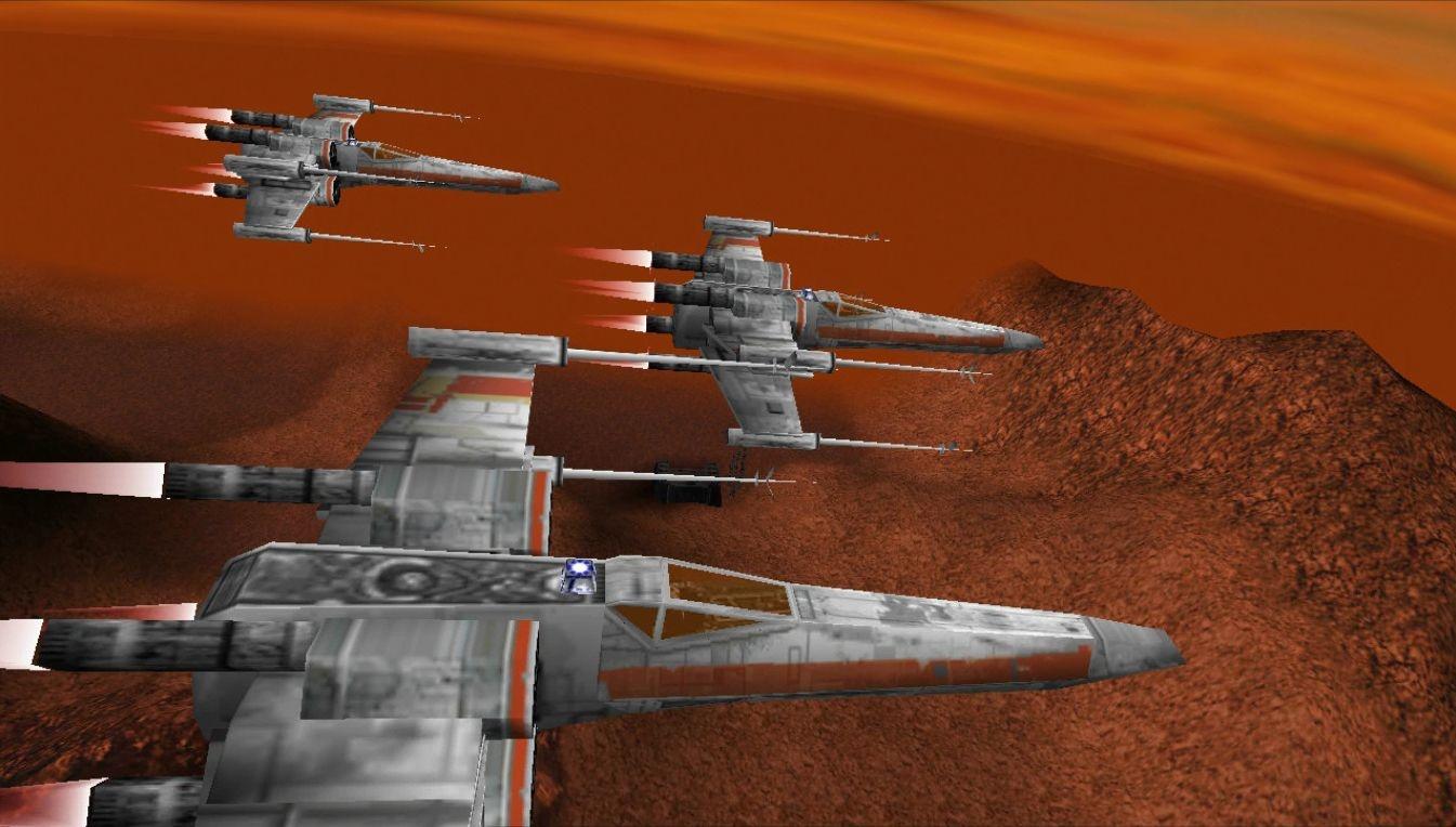 Lucasfilm потребовала прекратить работу над ремейком Star Wars: Rogue Squadron