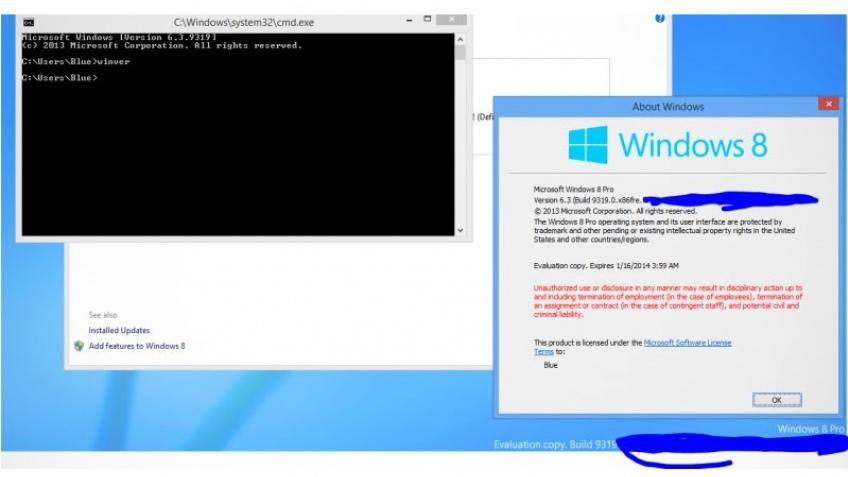 Публичная тестовая версия Windows Blue появится в июне