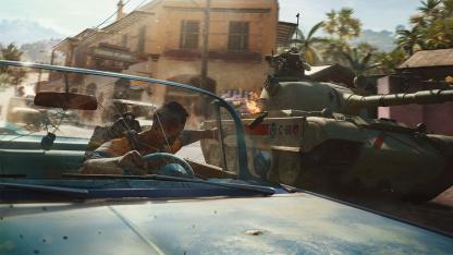В Far Cry6 с модом добавили регулировку поля зрения во время поездок