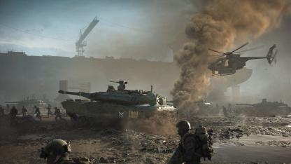 Бета Battlefield 2042 может стартовать22 сентября