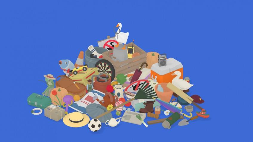 Украсть всё: игрок собрал все (почти) предметы в Untitled Goose Game