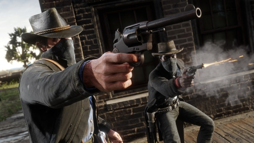 Red Dead Redemption2 вырвалась на первую строчку чарта Steam