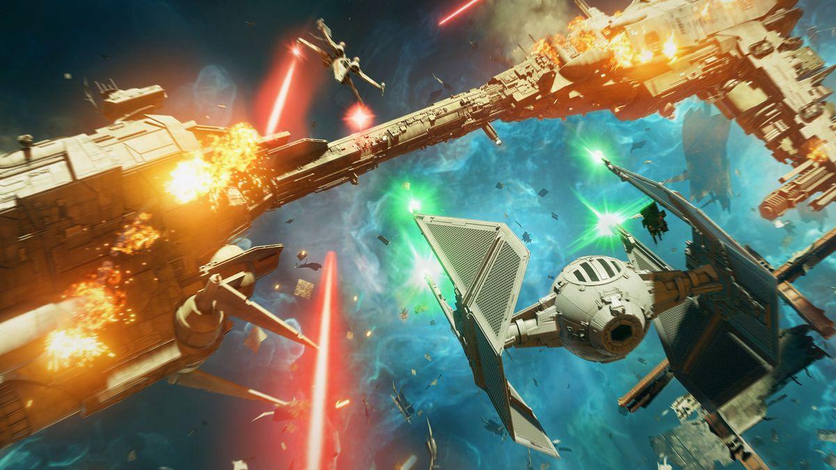 В свежих обновлениях Star Wars: Squadrons добавят карту и корабли
