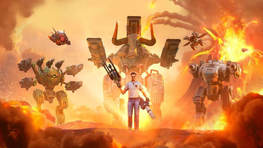 Игроки War Robots оказались во вселенной Serious Sam