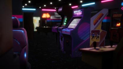 В геймплейном трейлере Arcade Paradise показали большой зал игровых автоматов