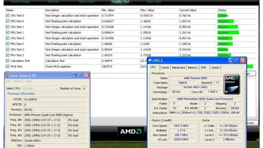 AMD Phenom X4 на частоте3,4 ГГц – реальность?