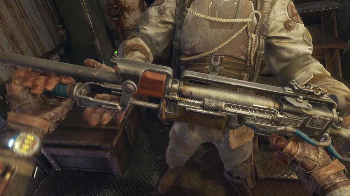 Авторы Metro: Exodus рассказали об оружии Артёма