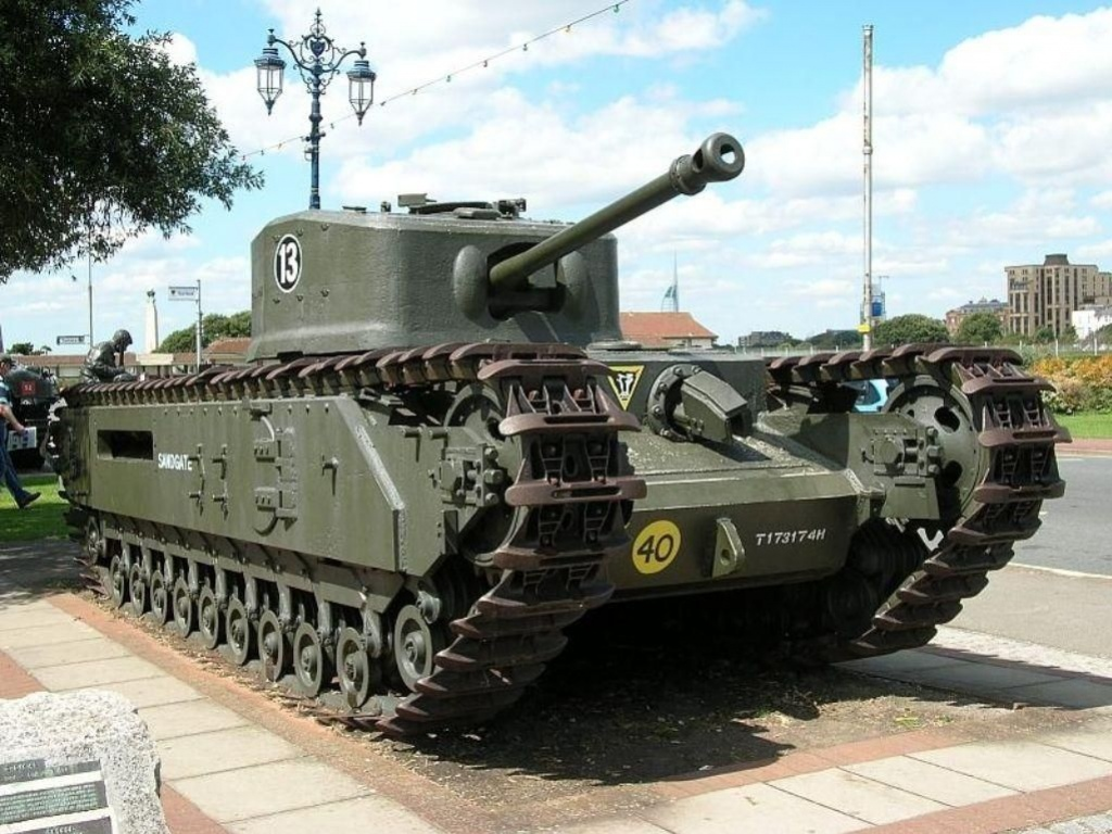 World of Tanks проводит акцию «Парад британских танков»