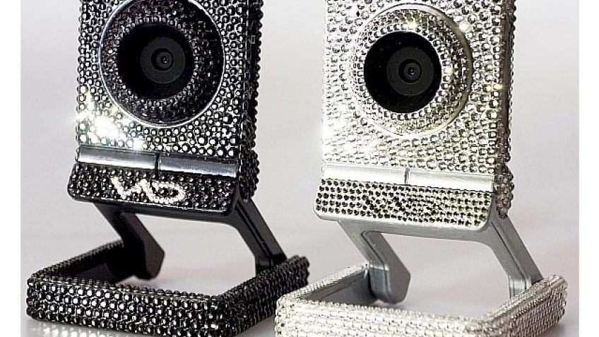 Swarovski и веб-камера