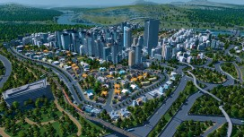 Игрок устроил зловонное цунами в Cities Skylines