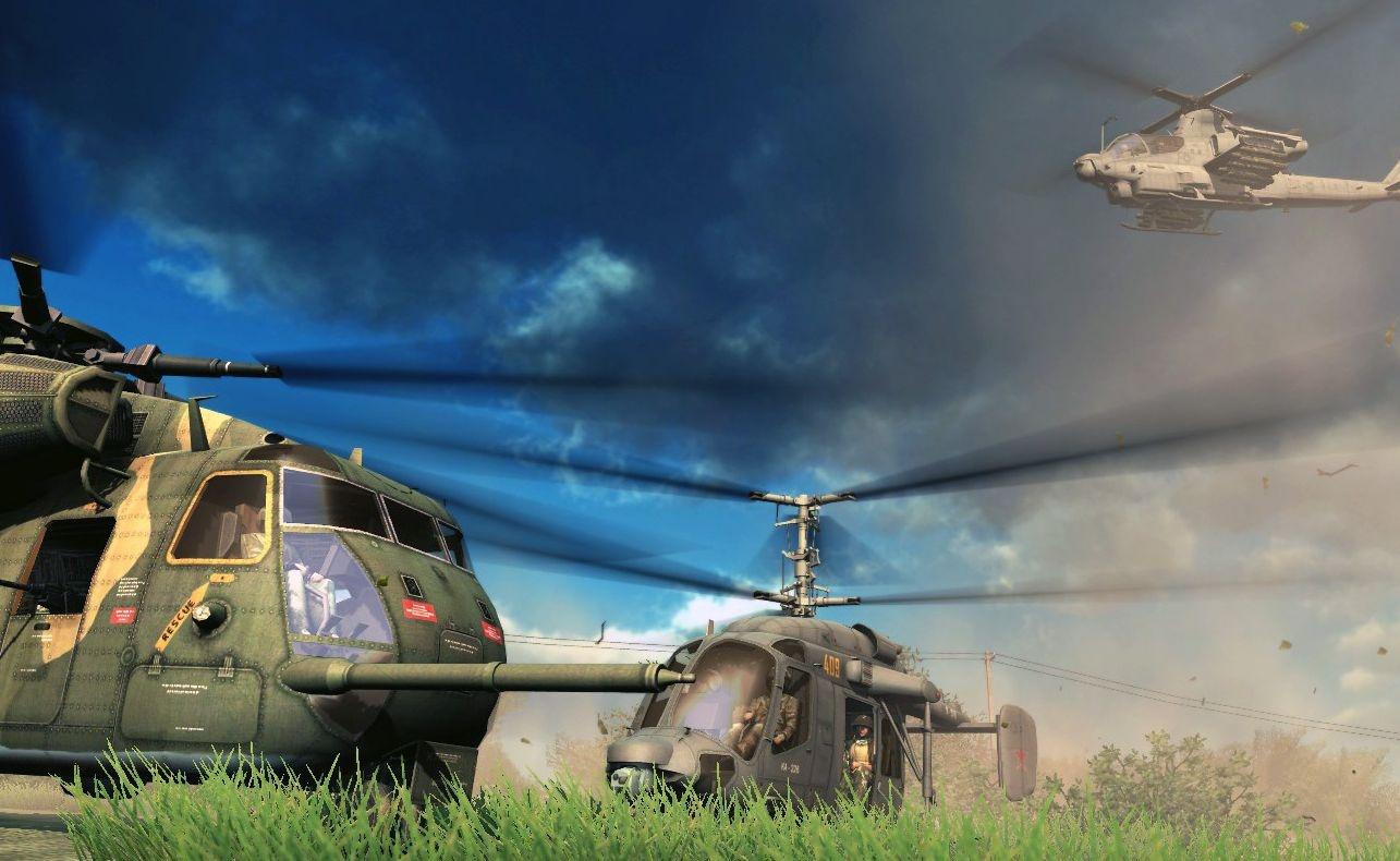 Симулятор пилота военного вертолёта Heliborne выйдет на консолях