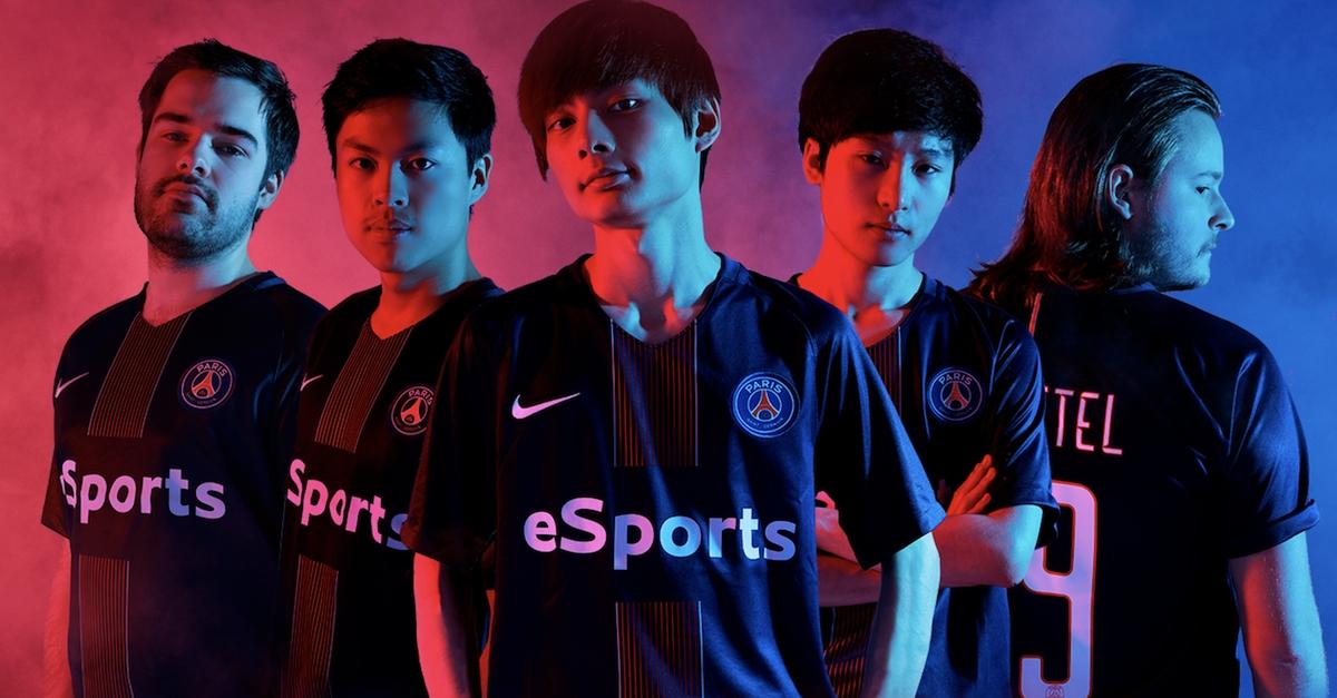 Paris Saint-Germain распускает состав по League of Legends