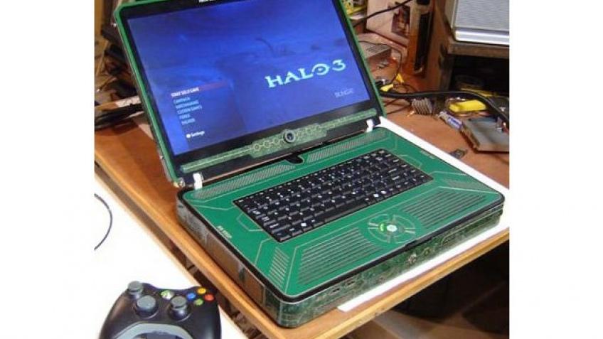 Ноутбук из Xbox 360!