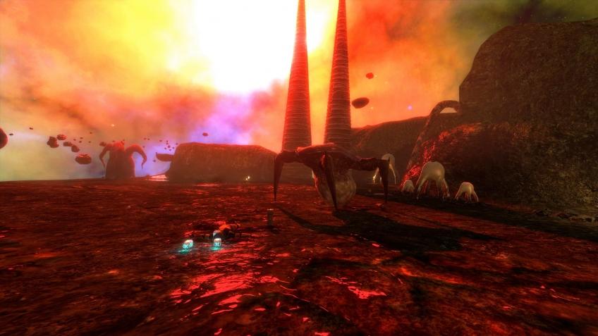 Моддер выпустил уровень Xen для Black Mesa