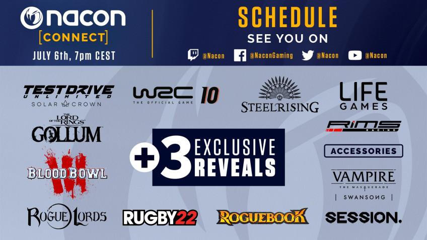 Завтра на Nacon Connect покажут Steelrising, Gollum, Swansong и другие игры1