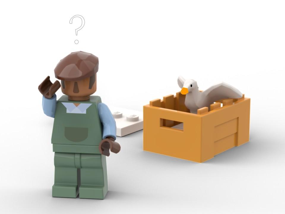 LEGO может выпустить набор по мотивам Untitled Goose Game