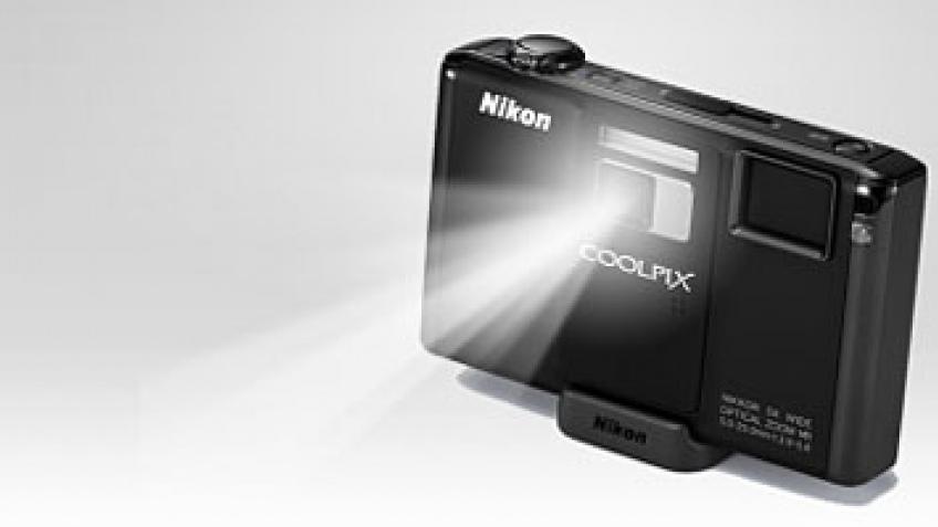 Nikon Coolpix s1000pj на видео