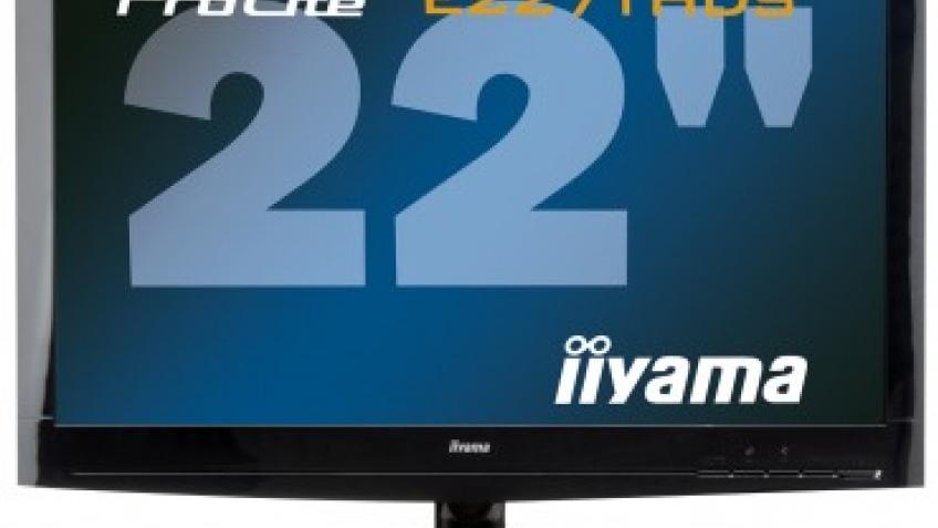 iiyama выпустит монитор с диодной подсветкой