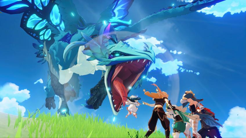 Условно-бесплатная экшен-RPG Genshin Impact вышла на PS4, PC, iOS и Android