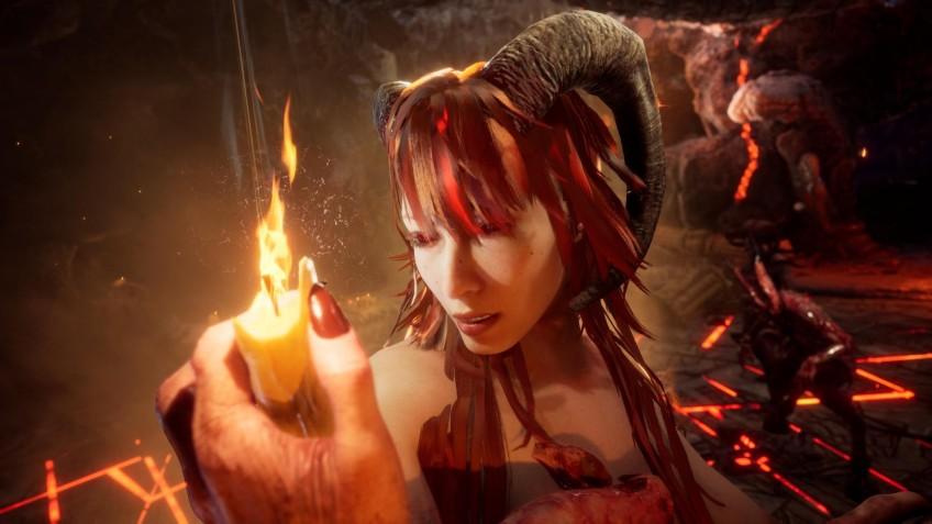 Новый геймплейный трейлер Succubus посвящён врагу по имени Amazon